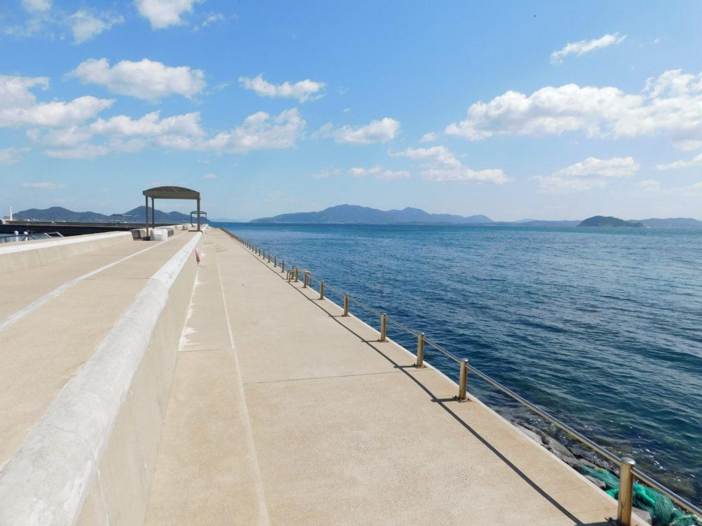宗像市大島でお手軽に海を感じることができる施設「うみんぐ大島」