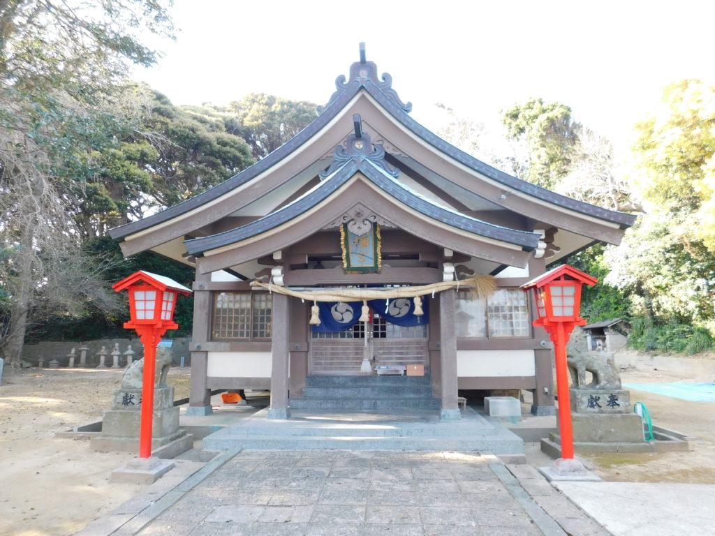 海女の発祥の地「鐘崎」にある宗像大社の境外摂社「織幡神社」